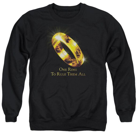 Lor One Ring Adult Crewneck Sweatshirt