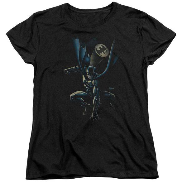 Batman Calling All Bats Short Sleeve Womens Tee T-Shirt