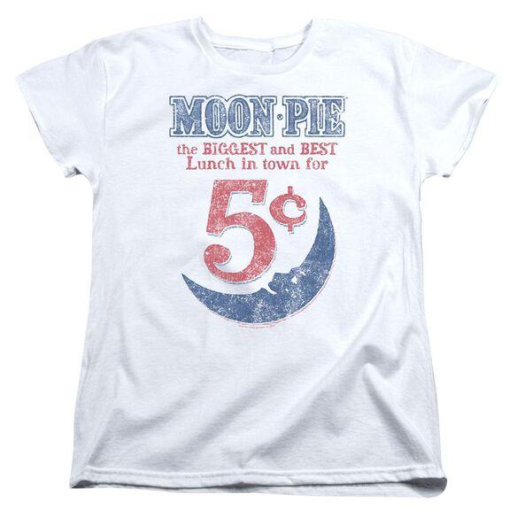Moon Pie Lunch Munch Short Sleeve Womens Tee T-Shirt