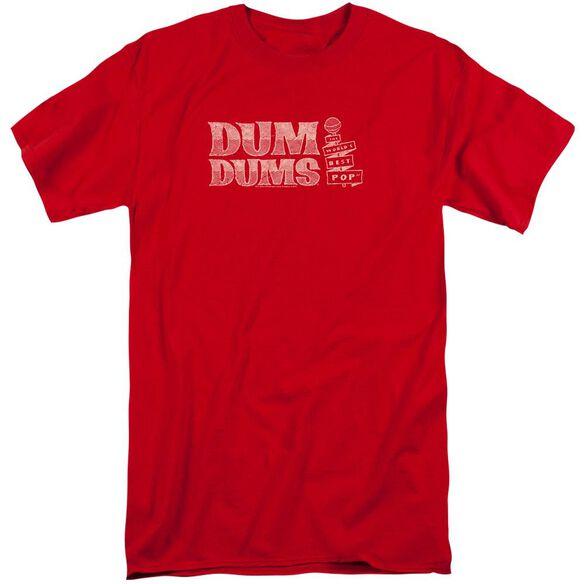 Dum Dums World's Best Short Sleeve Adult Tall T-Shirt