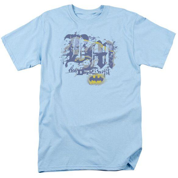 Batman He Sees All Short Sleeve Adult Light T-Shirt