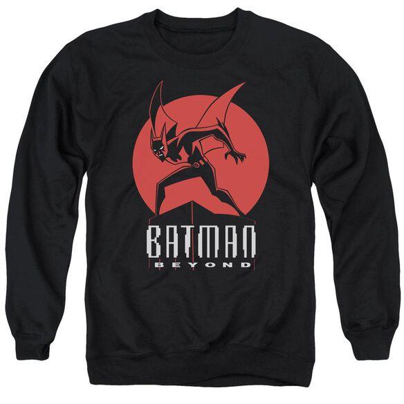Batman Beyond Perched Adult Crewneck Sweatshirt
