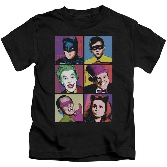 Batman Classic Tv Pop Cast Short Sleeve Juvenile T-Shirt