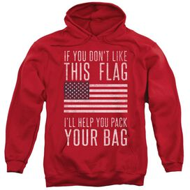 Pack Your Bag Adult Pull Over Hoodie