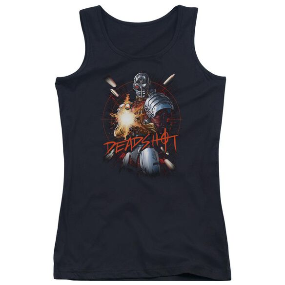 Jla Deadshot Juniors Tank Top