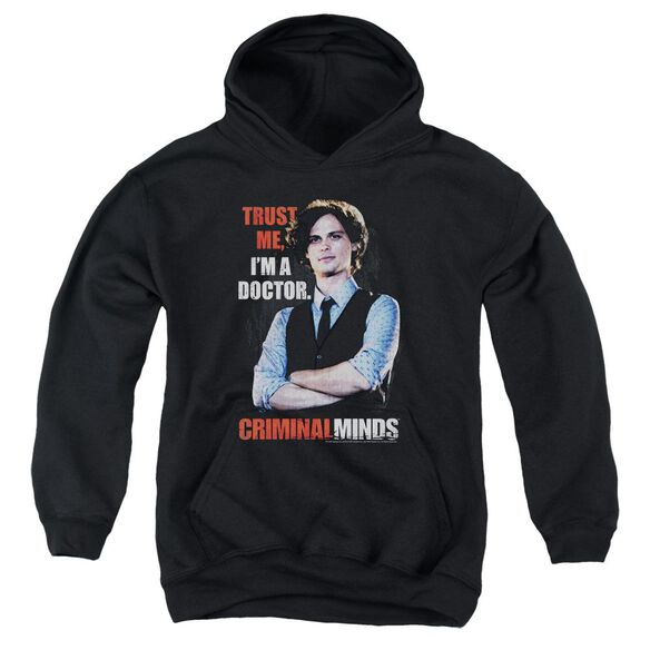 Criminal Minds Trust Me Youth Pull Over Hoodie