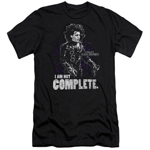 Edward Scissorhands Not Complete Premuim Canvas Adult Slim Fit