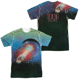 Journey Escape 1981 (Front Back Print) Short Sleeve Adult Poly Crew T-Shirt