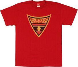 Plastic Man Shield T-Shirt