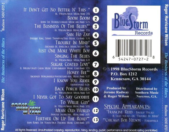 Business Of The Blues1298
