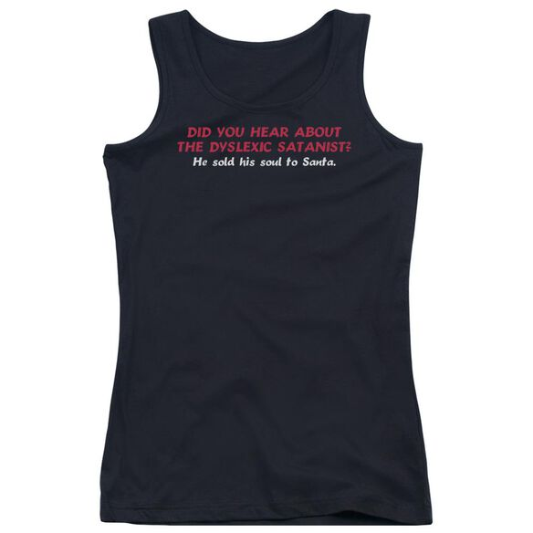 Dyslexic Santanist Juniors Tank Top