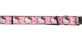 Hello Kitty Faces Hearts Mesh Belt