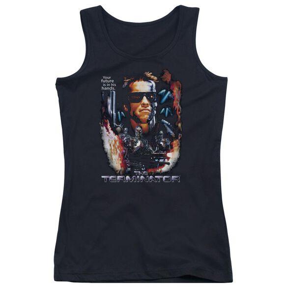 Terminator Your Future Juniors Tank Top