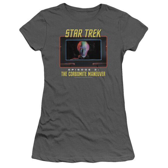 St Original The Corbomite Maneuver Short Sleeve Junior Sheer T-Shirt
