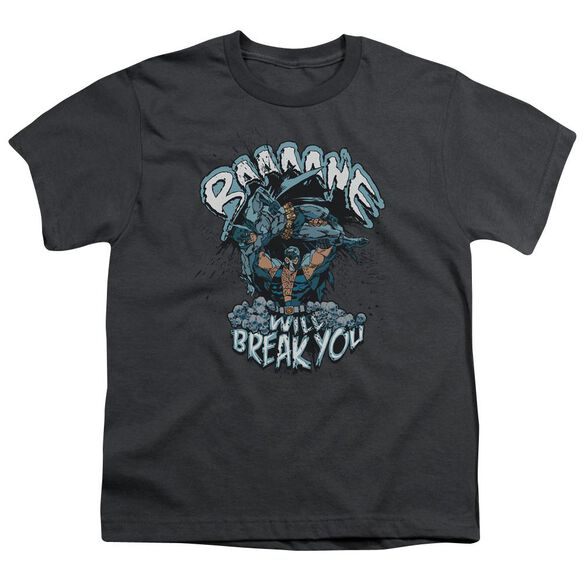 Batman Bane Will Break You Short Sleeve Youth T-Shirt