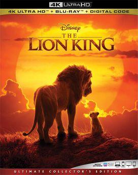 Lion King (2019) (4K) (WBR) (2pk) (AC3) (Dol)
