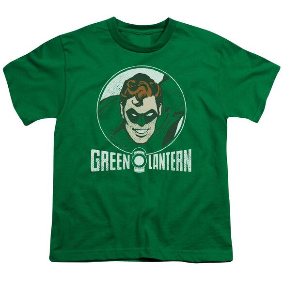 Dc Lantern Circle Short Sleeve Youth Kelly T-Shirt