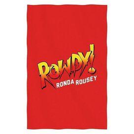 Rowdy Ronda Rousey Sweatshirt Throw