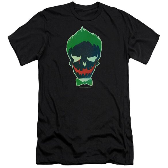 Suicide Squad Joker Skull Hbo Short Sleeve Adult T-Shirt