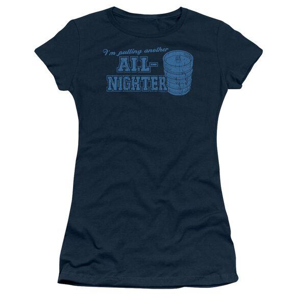 All Nighter Short Sleeve Junior Sheer T-Shirt
