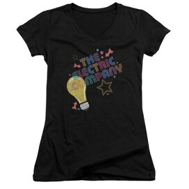 Electric Company Electric Light Junior V Neck T-Shirt