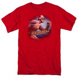 The Flash Fastest Man Short Sleeve Adult T-Shirt