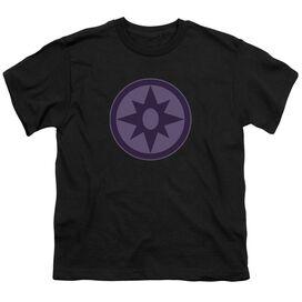 Green Lantern Sapphire Symbol Short Sleeve Youth T-Shirt