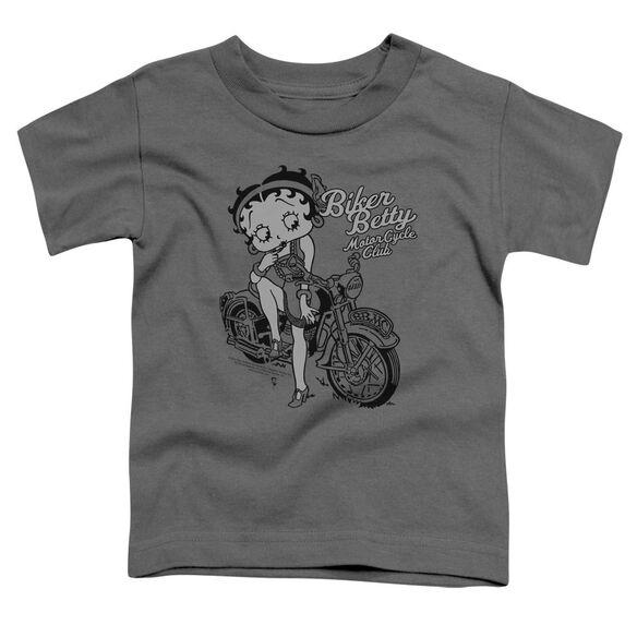 Betty Boop Bbmc Short Sleeve Toddler Tee Charcoal Sm T-Shirt