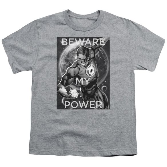 Dc Power Short Sleeve Youth Athletic T-Shirt