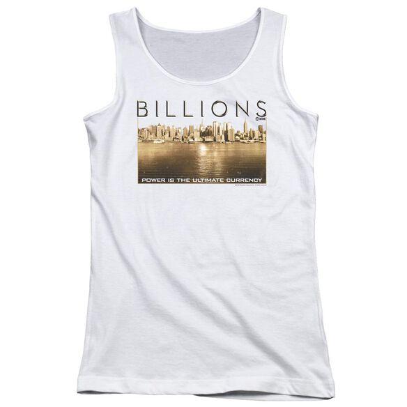 Billions Golden City Juniors Tank Top