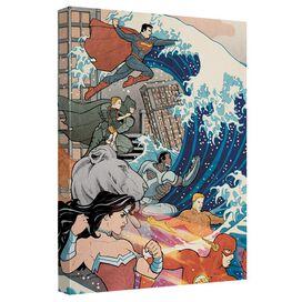 Jla Jla Wave Quickpro Artwrap Back Board