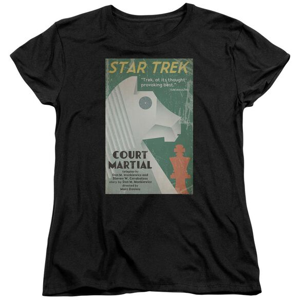 Star Trek Tos Episode 20 Short Sleeve Womens Tee T-Shirt