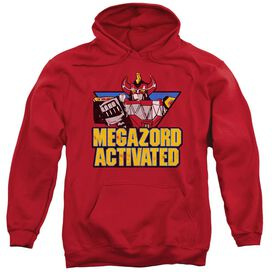 Power Rangers Megazord Activated Adult Pull Over Hoodie