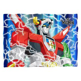 Voltron Lightning Combine Pillow Case White