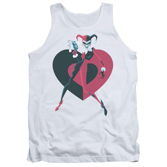 Batman Harely Heart Adult Tank
