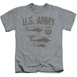 Army Airborne Short Sleeve Juvenile Athletic Heather T-Shirt