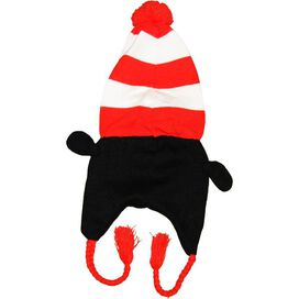 Dr Seuss Cat in the Hat Lapland Beanie