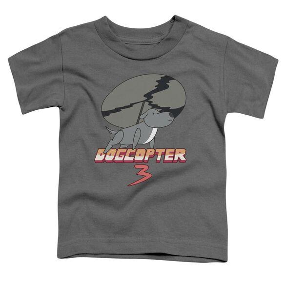 Steven Universe Dogcopter 3 Short Sleeve Toddler Tee Charcoal T-Shirt