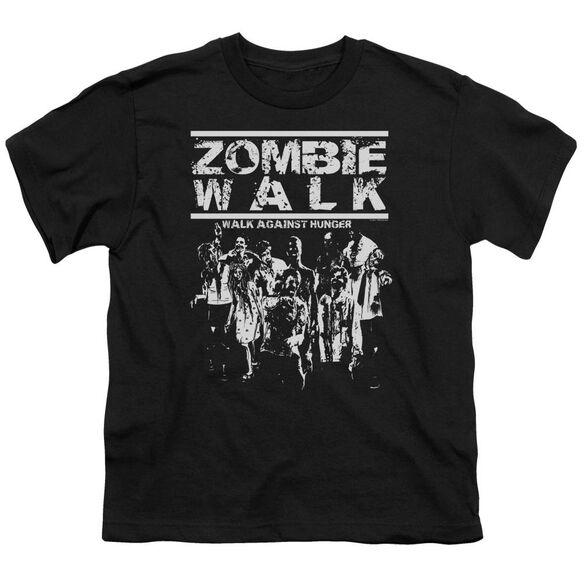 Zombie Walk Short Sleeve Youth T-Shirt