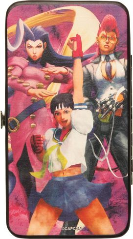 Street Fighter IV Female Fighters Clutch Wallet