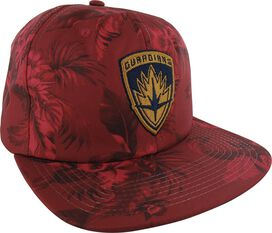 Guardians of the Galaxy Logo Floral Buckle Hat