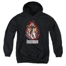 Shadowman Burst Youth Pull Over Hoodie