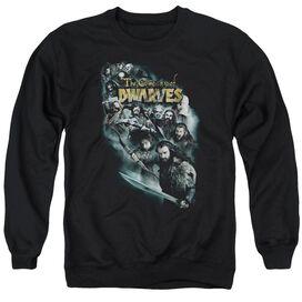 The Hobbit Company Of Dwarves Adult Crewneck Sweatshirt