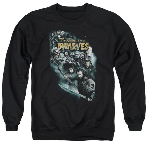 The Hobbit Company Of Dwarves Adult Crewneck Sweatshirt
