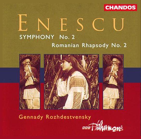 Gennady Rozhdestvensky - Symphony 2 / Romanian Rhapsody 2