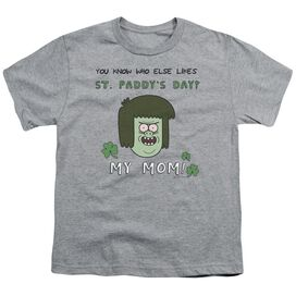 The Regular Show My Mom Short Sleeve Youth Athletic T-Shirt