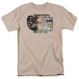 Sg1 Happy Feeling Short Sleeve Adult Sand T-Shirt