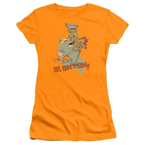 Ed Edd N Eddy Free Fall Premium Bella Junior Sheer Jersey
