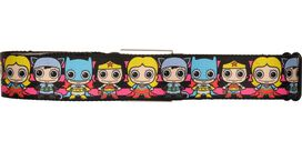 Justice League Chibi Superheroines Seatbelt Belt