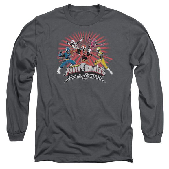 Power Rangers Ninja Blast Long Sleeve Adult T-Shirt